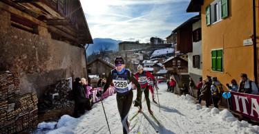 Val Di Fiemme 29.1 2012  MARCIALONGA: Cavalese.  FOTO: GEIR OLSEN/VG